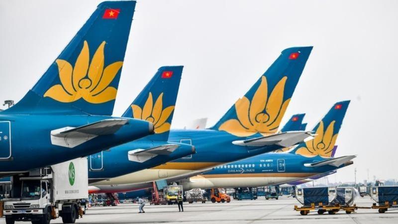Vietnam Airlines đang chịu thiệt hại nặng nề nhất trong số các doanh nghiệp thuộc Tổng công ty Hàng không Việt Nam.