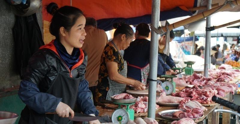 """Vì sao giá thịt lợn vẫn """"neo"""" ở mức cao?"""