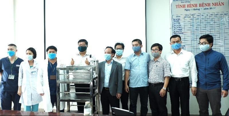 Những sáng chế giảm nguy cơ lây nhiễm tại các khu cách ly