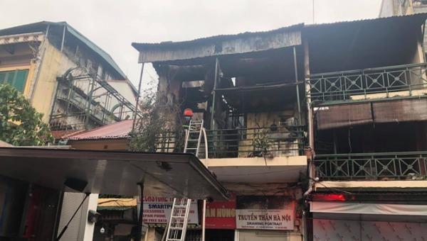 Ngôi nhà nơi xảy ra cháy.