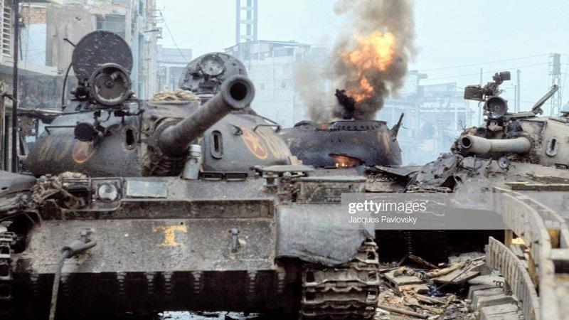 Ảnh tư liệu: Những chiếc xe tăng ngày 30/4/1975