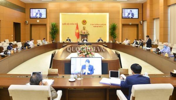 Dự kiến chương trình Phiên họp thứ 45 Ủy ban Thường vụ Quốc hội