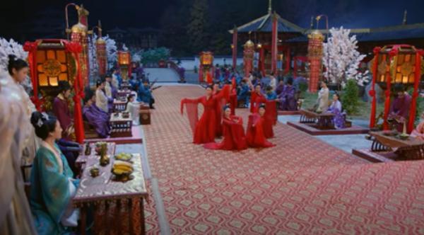 """Hình ảnh trong đoạn phim """"Thịnh Đường Huyễn Dạ"""" được cho là sử dụng nhã nhạc cung đình Huế."""