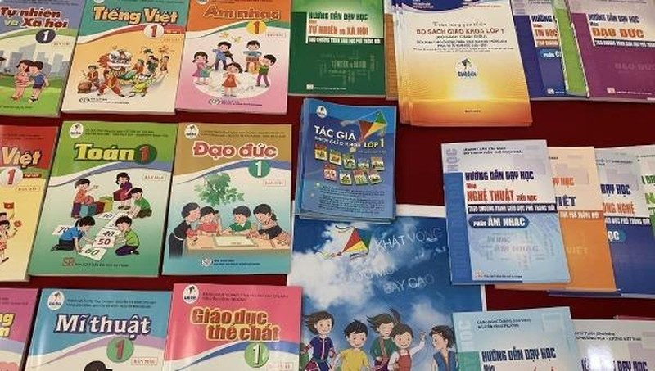 Các trường phải thông báo việc lựa chọn sách giáo khoa lớp 1 trước ngày 20/5