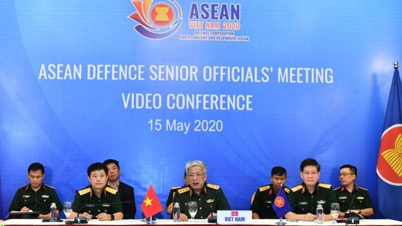 Khai mạc Hội nghị trực tuyến quan chức Quốc phòng cấp cao ASEAN