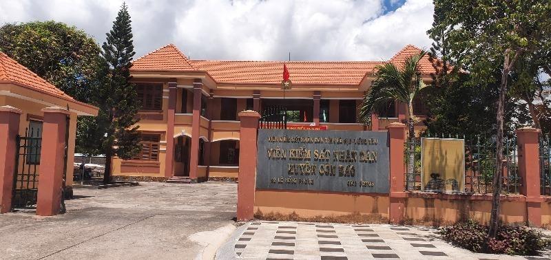 Trụ sở VKSND huyện Côn Đảo.