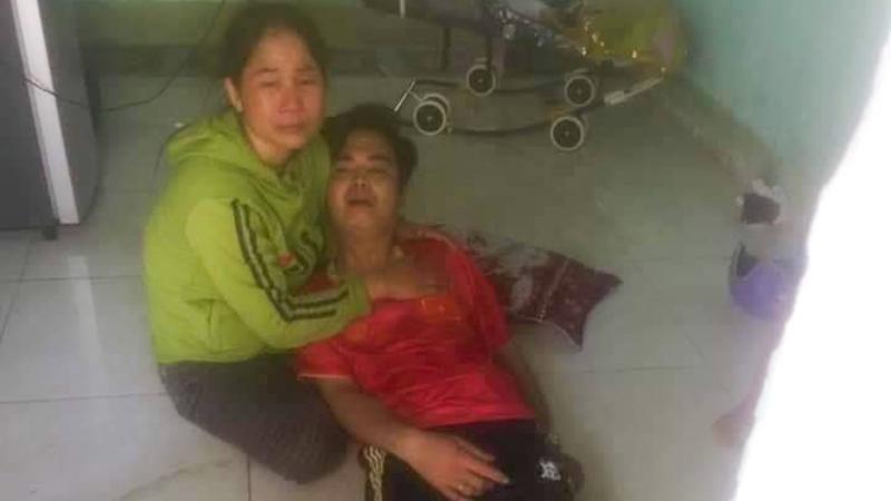 Người chồng nghi sát hại vợ rồi dựng hiện trường giả