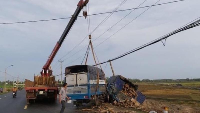 Vụ tai nạn ở Bà Rịa Vũng Tàu khiến 1 người phụ nữ tử vong.