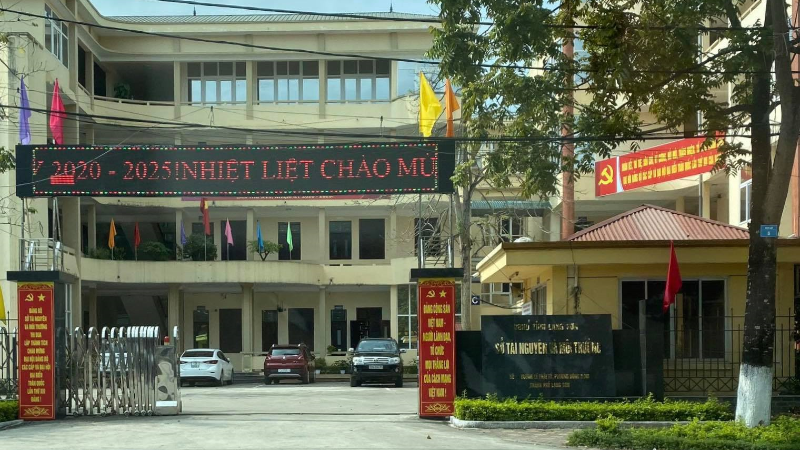 Sở Tài nguyên và  Môi trường tỉnh Lạng Sơn luôn có kế hoạch, phương hướng cụ thể để hoàn thành các chỉ tiêu đã đặt ra.
