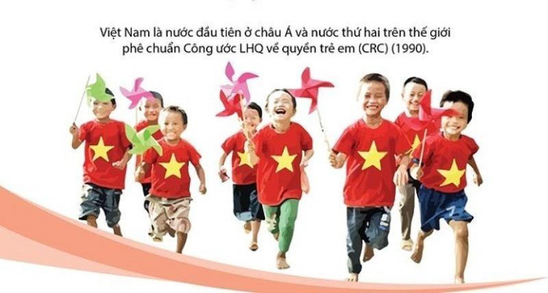Việt Nam đồng hành cùng bộ luật quốc tế cho trẻ em