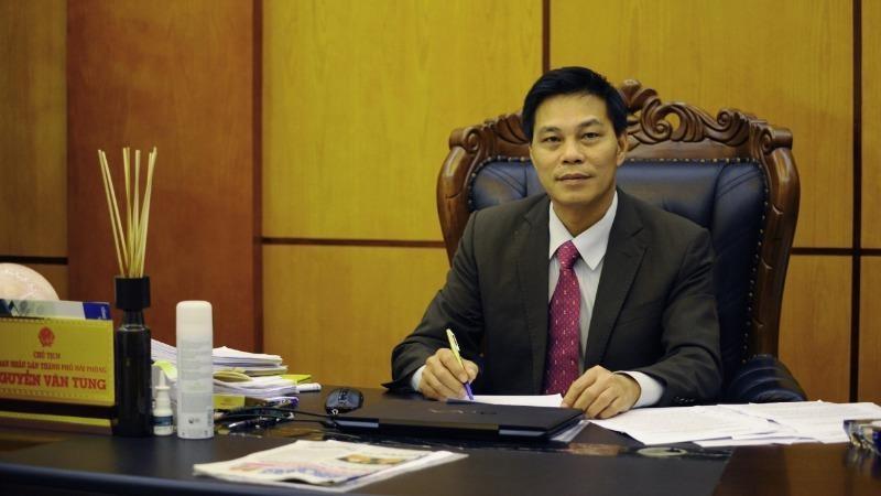 Chủ tịch UBND Hải Phòng Nguyễn Văn Tùng.