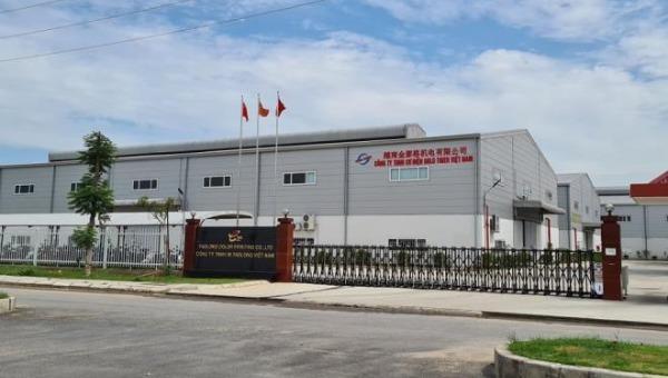 Công trình xây dựng không phép ở KCN Quế Võ - Bắc Ninh.