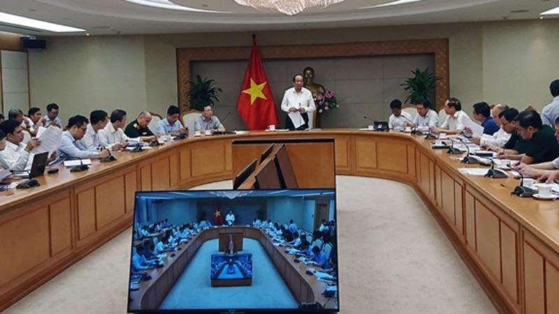 Bộ trưởng Mai Tiến Dũng chủ trì cuộc họp.