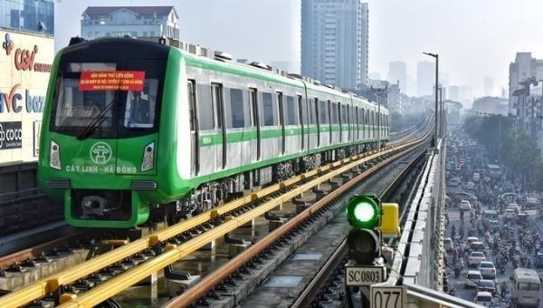 Yêu cầu sớm khai thác tuyến đường sắt đô thị Cát Linh - Hà Đông