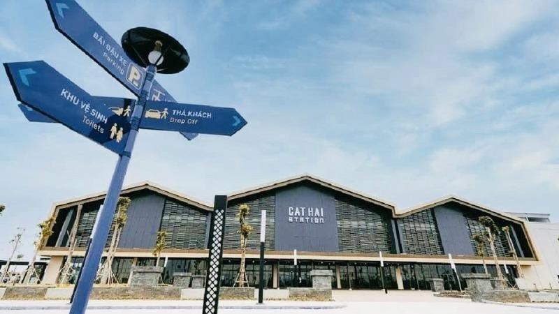 Kiến trúc nhà ga Cát Hải mang dấu ấn ngành công nghiệp đóng tàu của TP Cảng
