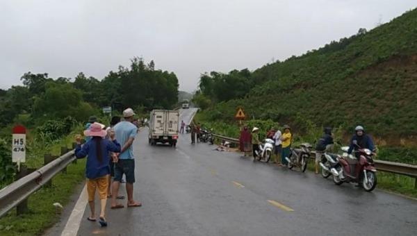Nam thanh niên tử vong khi va chạm với xe tải