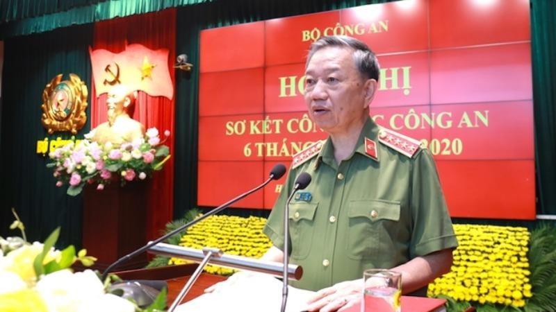Bộ trưởng Tô Lâm phát biểu kết luận tại Hội nghị