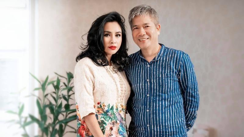 Ca sĩ Thanh Lam bên bạn trai mới.