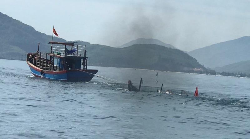 Va chạm tàu cá trên biển, 1 người tử vong