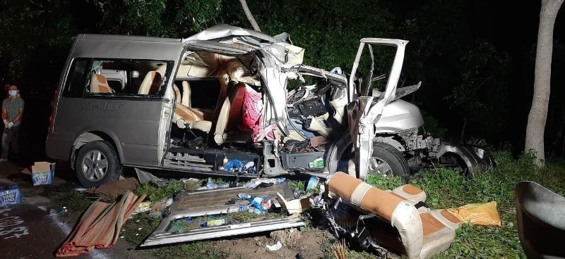 Vụ tai nạn thảm khốc khiến 8 người chết, 7 người bị thương.