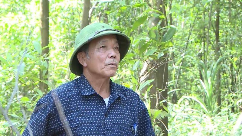 Cựu chiến binh Mai Xuân Lụa.