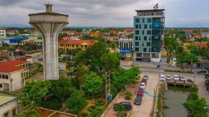 Một góc thị xã Ba Đồn ngày nay