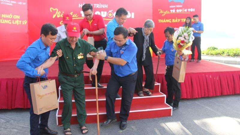 Nhiều hoạt động tri ân các cựu tù Côn Đảo.