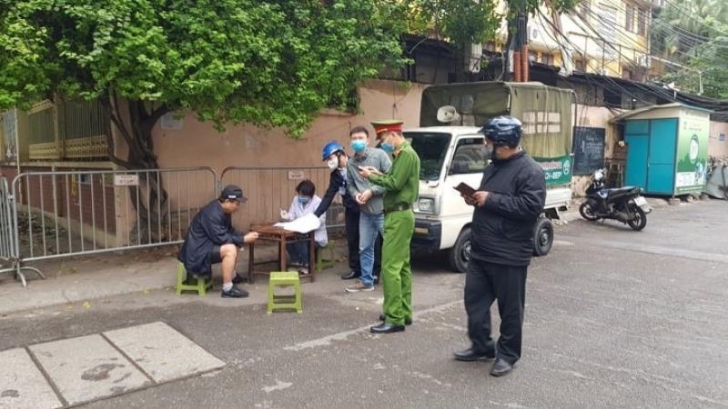Hà Nội xử phạt vi phạm trong phòng, chống Covid-19