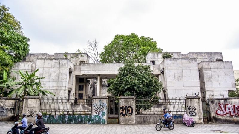 Được Bulgari bàn giao lại từ tháng 5/2018, sau hơn 2 năm hiện nhà 300 Kim Mã vẫn bỏ không.