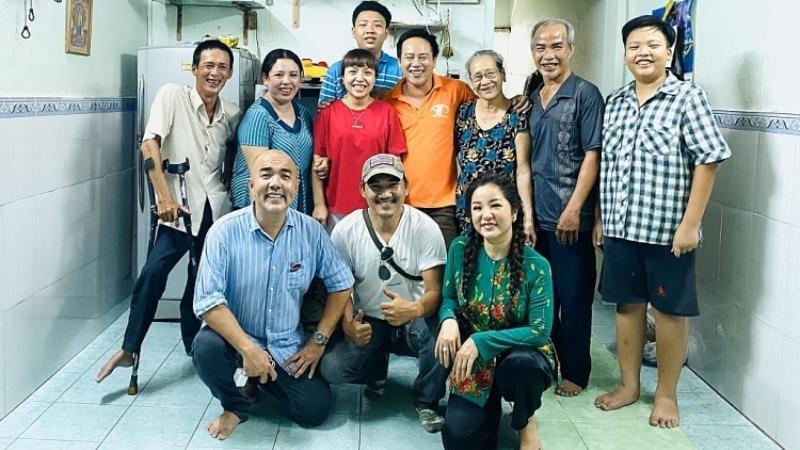 Gia đình bà Nguyễn Thị Sang đã hóa giải mâu thuẫn nhờ hai chị em bạn dâu mở lòng, tha thứ cho nhau