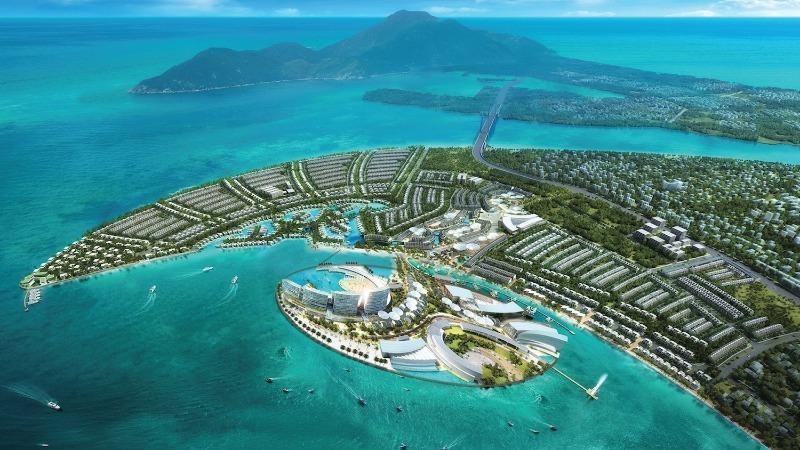 Phối cảnh dự án Khu đô thị quốc tế Đa Phước.