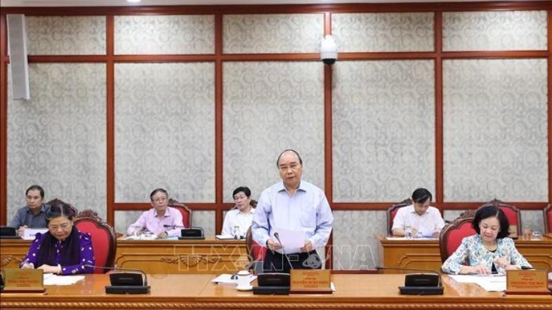 Bộ Chính trị làm việc với 12 đảng bộ trực thuộc Trung ương