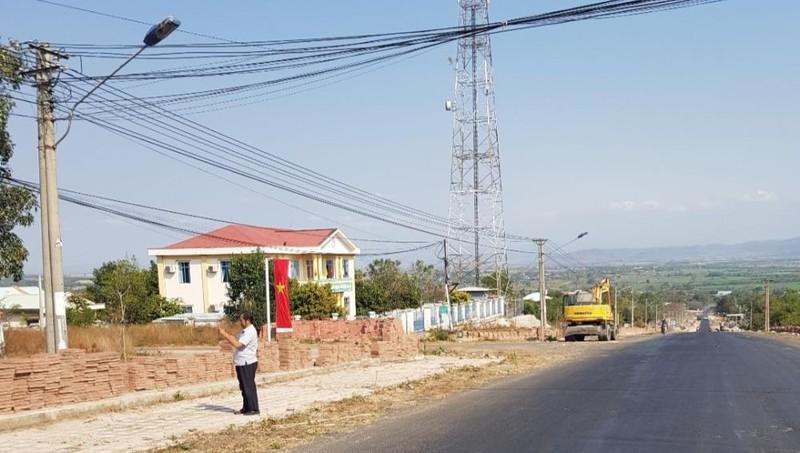 Dự án đường Hùng Vương được xác định có một số sai phạm.