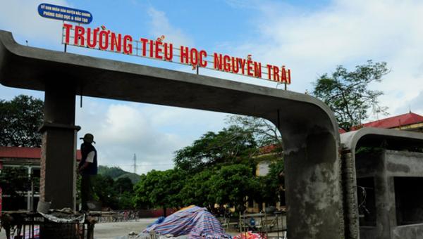 Trường Tiểu học Nguyễn Trãi.