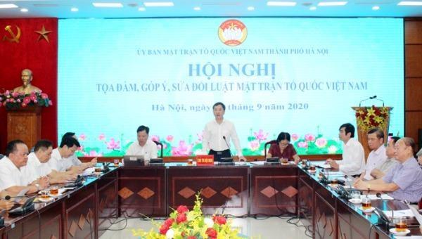 Quy định rõ vai trò giám sát, phản biện của Mặt trận Tổ quốc Việt Nam