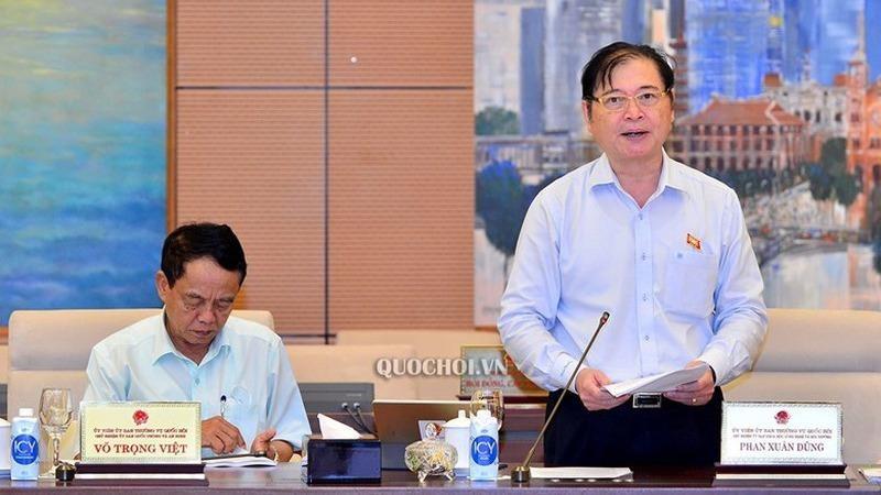 Ông Phan Xuân Dũng Chủ nhiệm Ủy ban Khoa học Công nghệ và Môi trường.