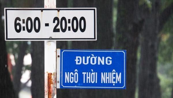 Tên đường Ngô Thời Nhiệm, quận 3 đúng ra phải là Ngô Thì Nhậm.