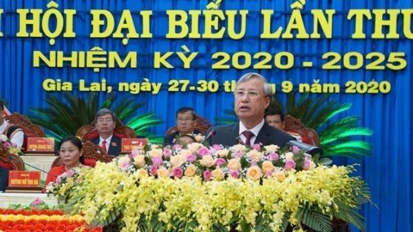 Ủy viên Bộ Chính trị, Thường trực Ban Bí thư Trần Quốc Vượng phát biểu chỉ đạo đại hội.