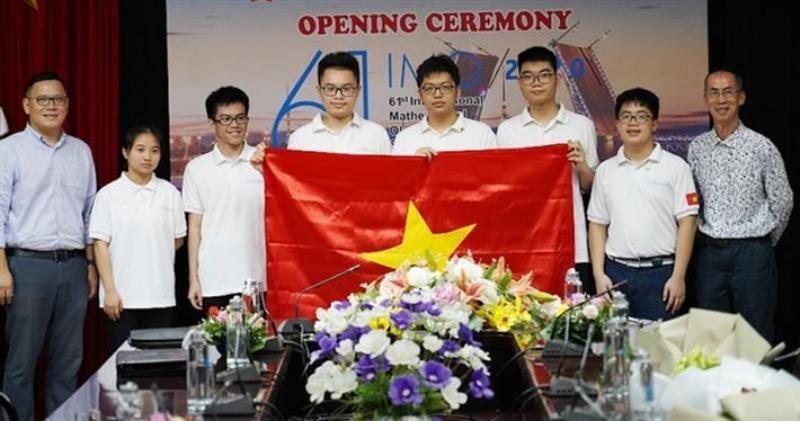 Việt Nam giành 2 huy chương vàng Olympic Toán học quốc tế