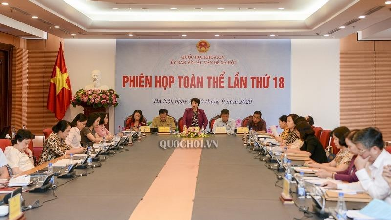 Các đại biểu tại phiên họp.