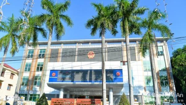 Trung tâm phục vụ hành chính công có địa chỉ tại số 16, đường Trường Thi, thành phố Vinh. Ảnh: Thành Cường/Báo Nghệ An.