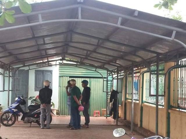 Khuôn viên trường Tiểu học Kim Đồng- nơi phát hiện nạn nhân tử vong.