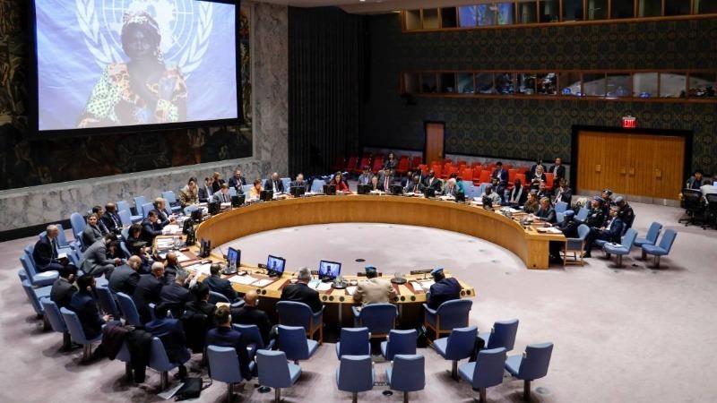 Phiên họp của Hội đồng bảo an Liên hợp quốc.