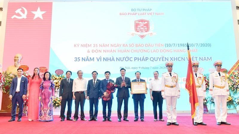 Báo Pháp luật Việt Nam: Tự hào cơ quan ngôn luận của Bộ Tư pháp
