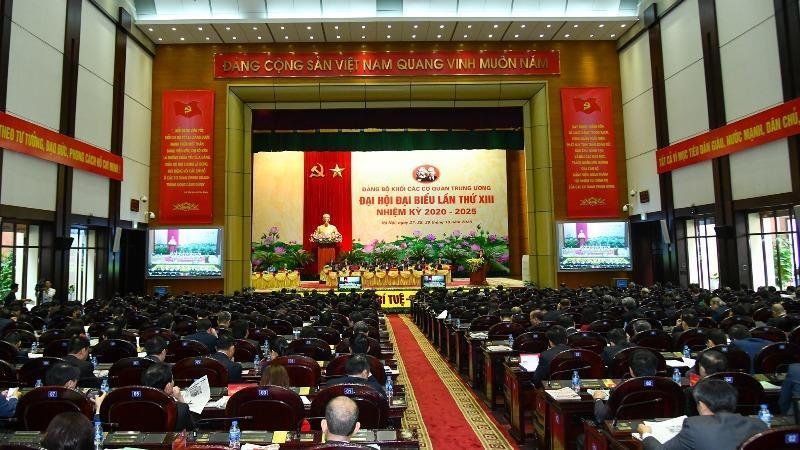 Đại hội Đảng bộ Khối các cơ quan Trung ương vừa qua đã ghi nhận nhiều ý kiến đóng góp cho dự thảo Văn kiện trình Đại hội XIII của Đảng