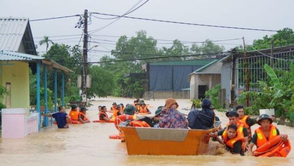 Ứng phó bão số 10: Sẵn sàng công tác tìm kiếm cứu nạn