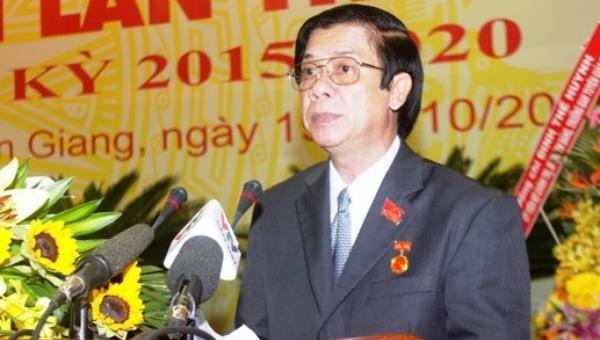 Ông Nguyễn Văn Danh, Uỷ viên Trung ương Đảng, Bí thư Tỉnh ủy Tiền Giang.