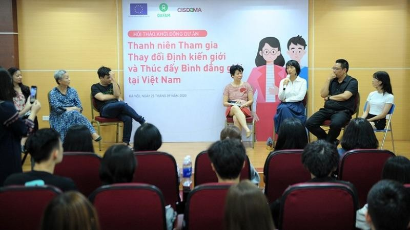 Thanh niên tham gia thay đổi định kiến giới tại Việt Nam