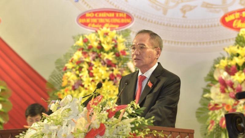 Ông Lữ Văn Hùng - Ủy viên Trung ương Đảng, Bí thư Tỉnh ủy Bạc Liêu.