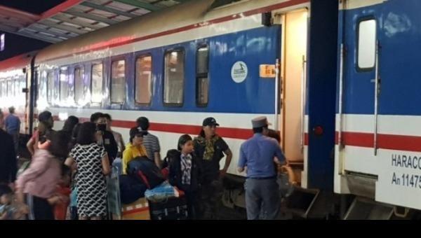 Đường sắt Hà Nội giảm 50% giá vé